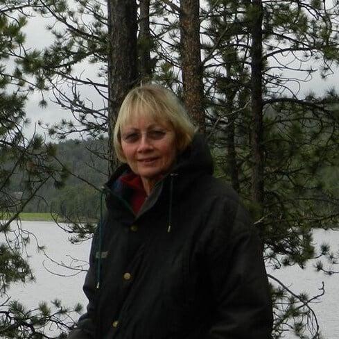 Sherry at Sheridan Lake 1