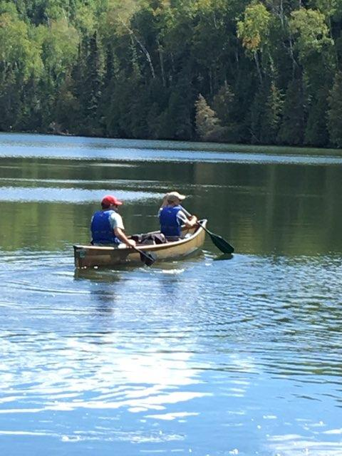 Canoe pic for bio page